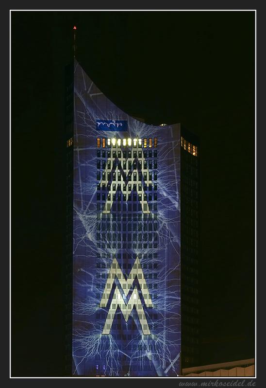 Leipzig Augustusplatz - WM Fieber