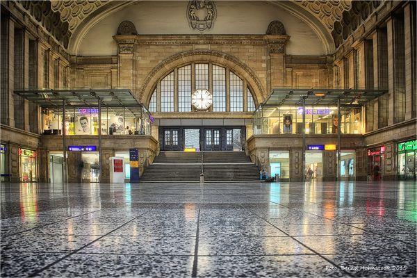 Leipzig Hauptbahnhof ....