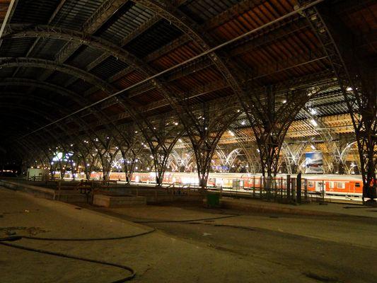 Leipzig, Hauptbahnhof - Baustelle - 09/2010