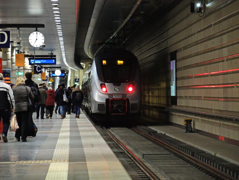 Leipzig Hbf Gleis 1 Tief