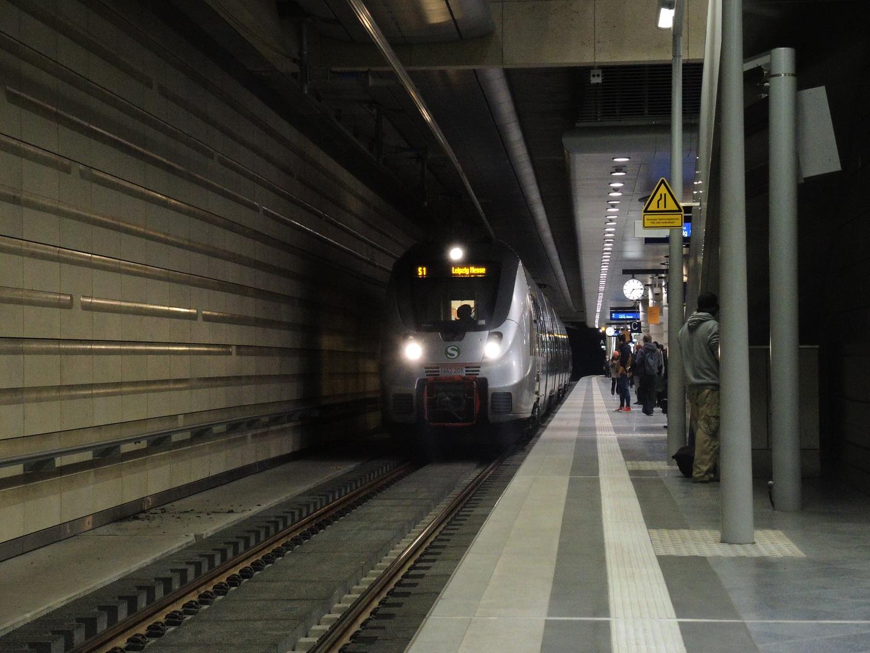 Leipzig Hbf Gleis 2 Tief