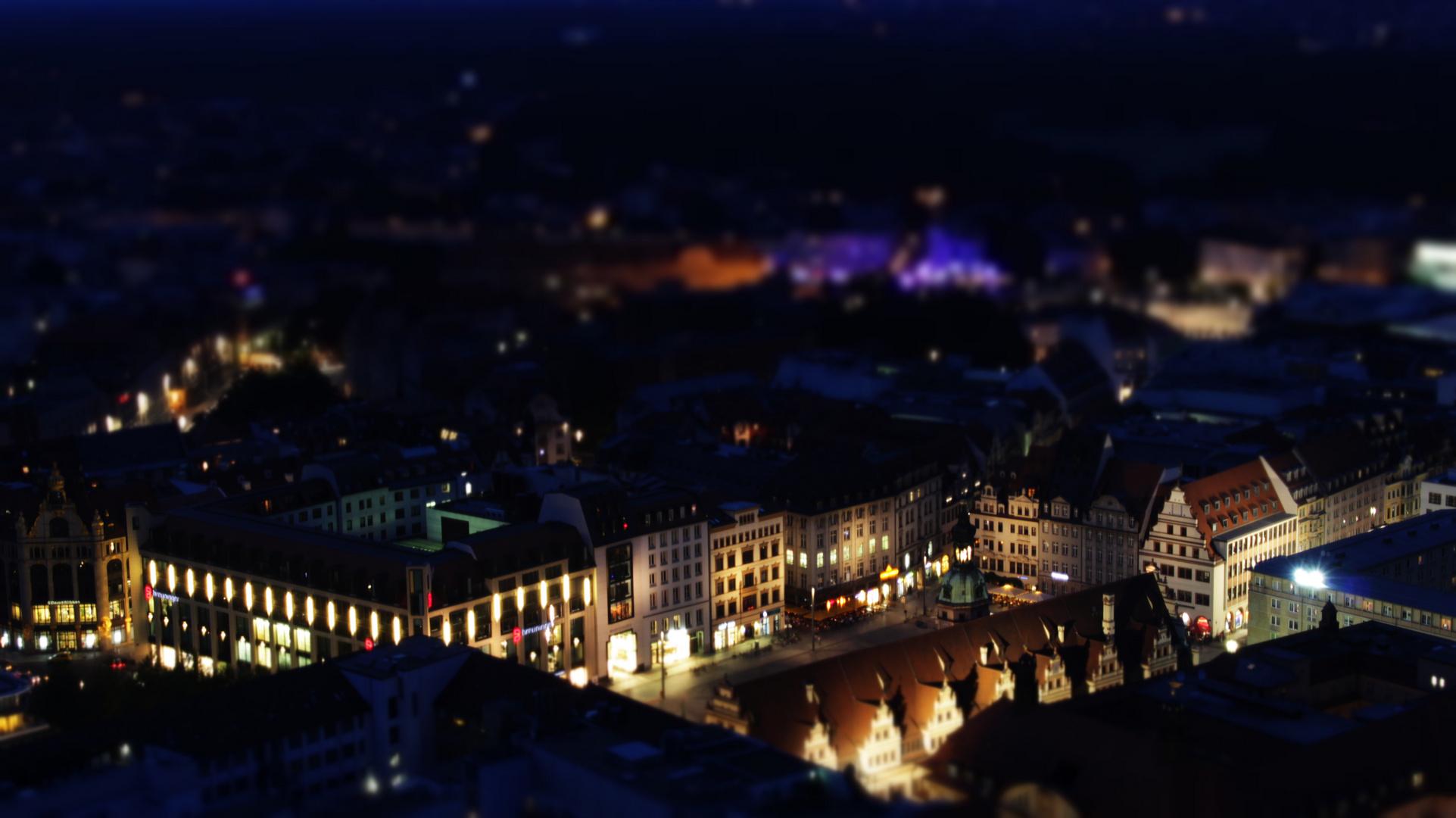 Leipzig im Nachtgewandt (Markt)