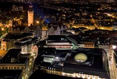 Leipzig @ night