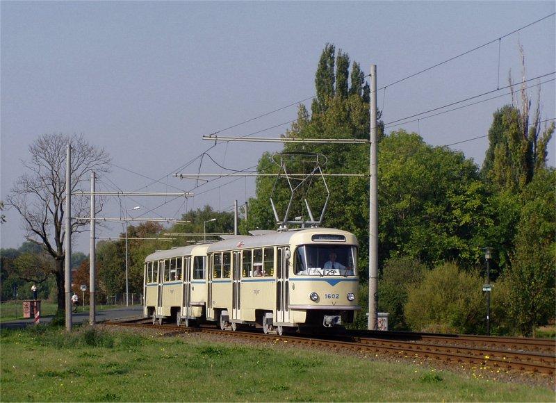 Leipzig: Portrait vom historischen Tatrazug