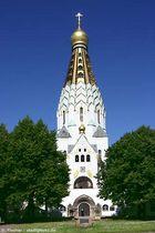 Leipzig, Russisch-Orthodoxe Kirche.