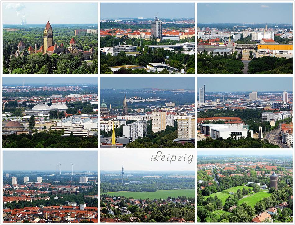 Leipzig Skylines