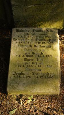 Leipzig-Südfriedhof - Familie Frankenstein 1.01