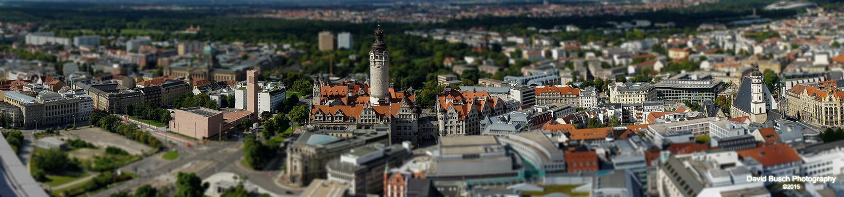 Leipzig Tilt Shift Panorama