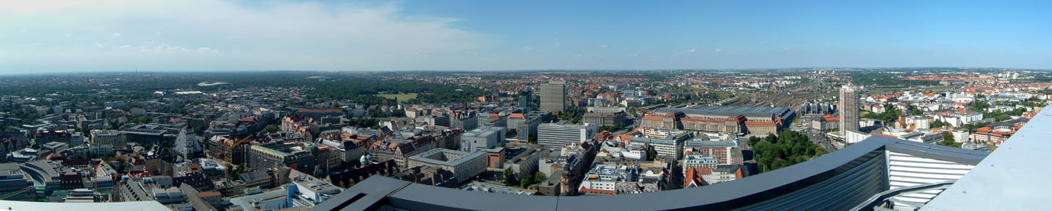 Leipzig von oben II