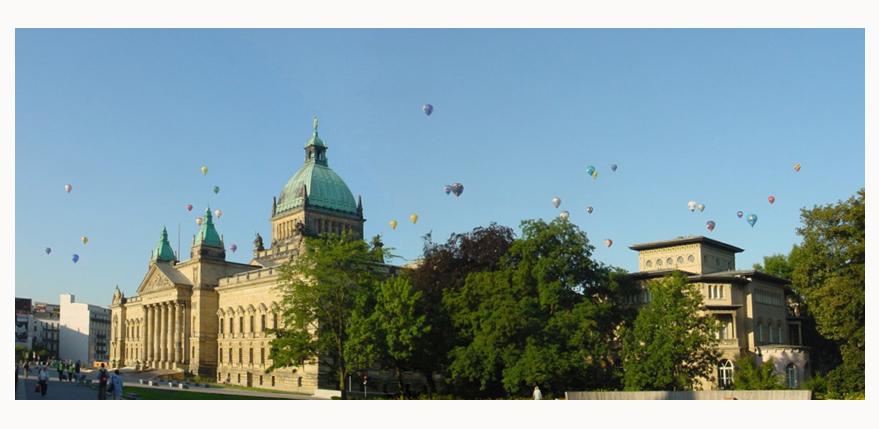 Leipziger - Ballon - Allerlei