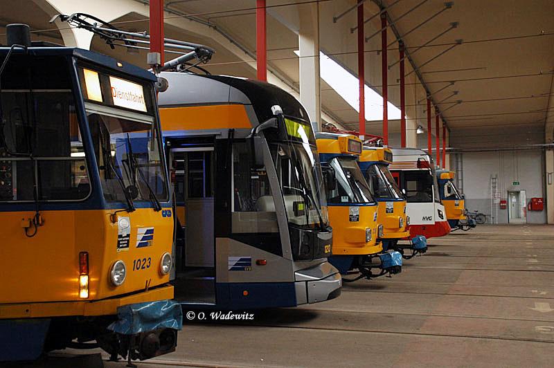 Leipziger Linienwagen und 1 Sonderling