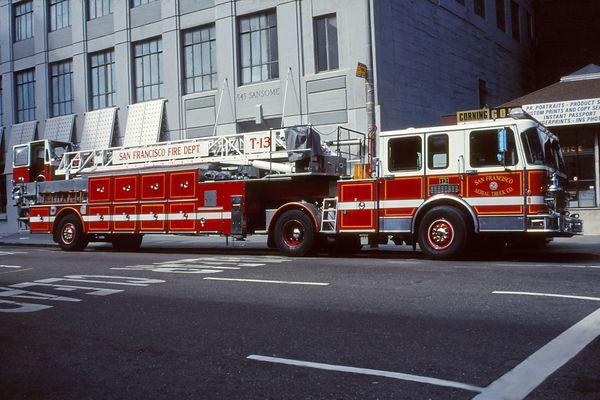 Leiter-Truck San Francisco