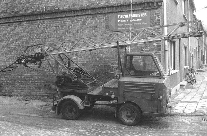 Leiterwagen made in DDR