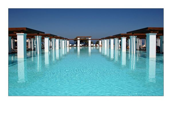 Lekker zwemmen Kreta 2007