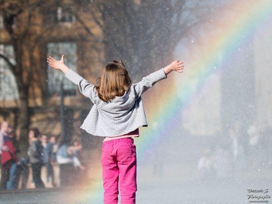 L'émerveillement d'un enfant