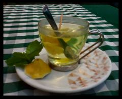 Lemon tea again and again:-)))