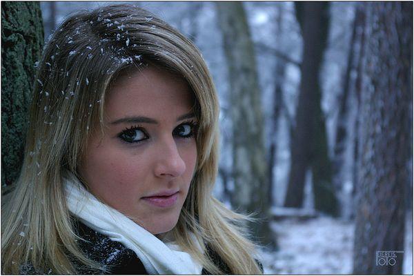 Lena im Winter