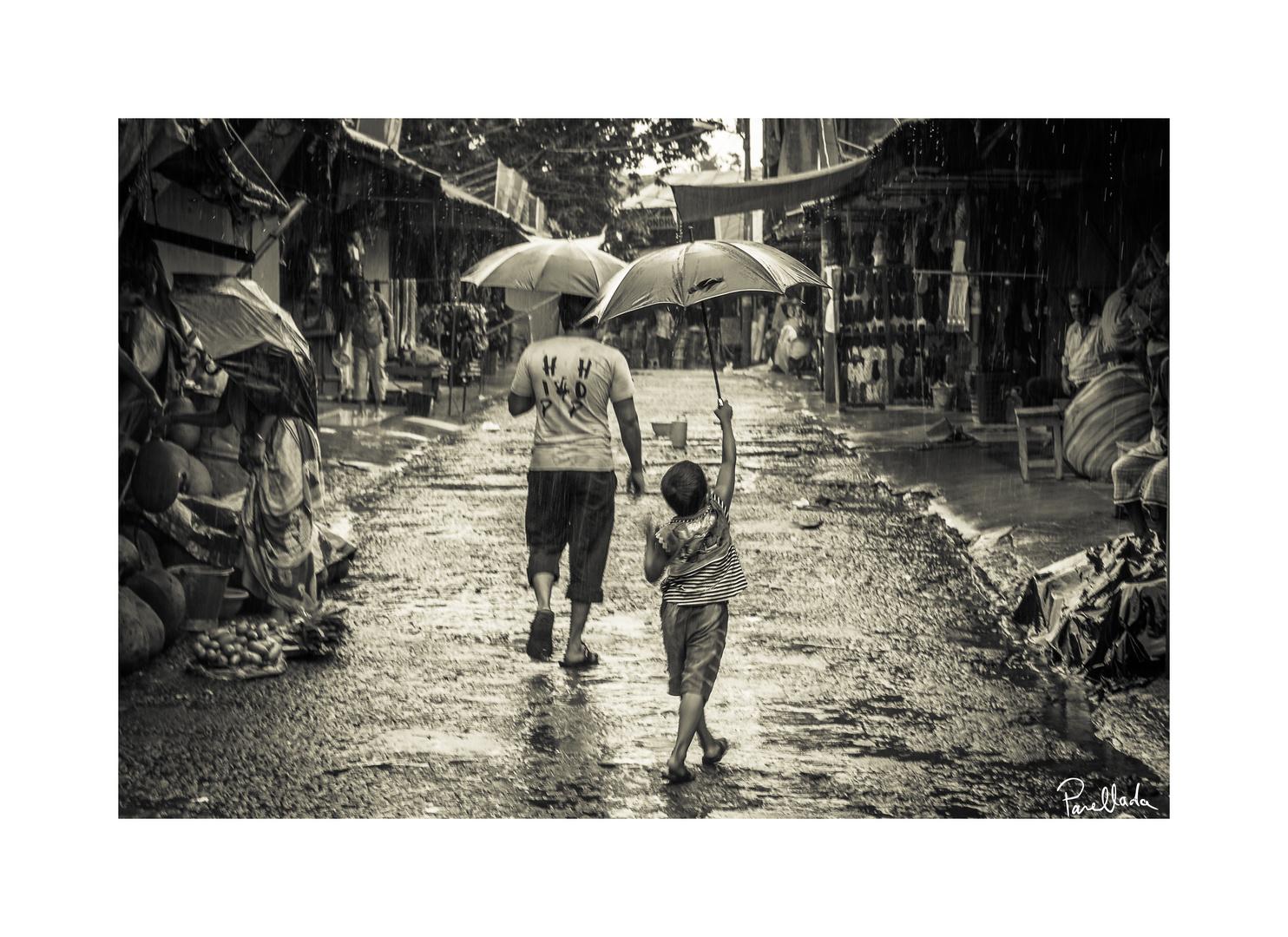 L'enfant au parapluie - Bangladesh (2015)