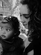 L'enfant et la jeune fille...