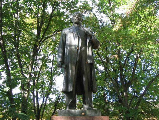 Lenin - am Haus der Offiziere in Potsdam