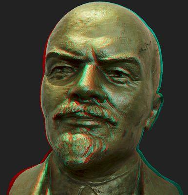 Lenin Büste (3D)