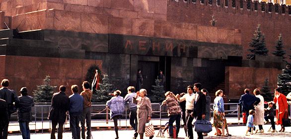 Lenin-Mausoleum am Roten Platz