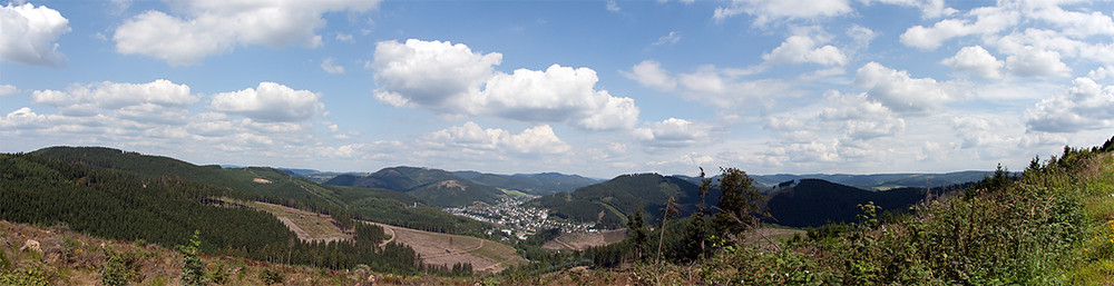 Lennestadt-Altenhundem Panorama