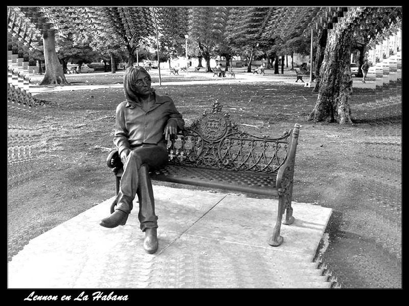 Lennon en La Habana