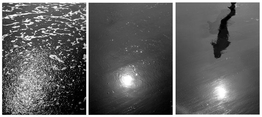 Lentamente l'acqua si ritrae...