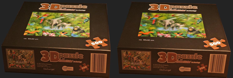 Lentikular-3D-Puzzle