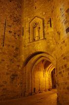 L'entrée. Cité de Carcassonne