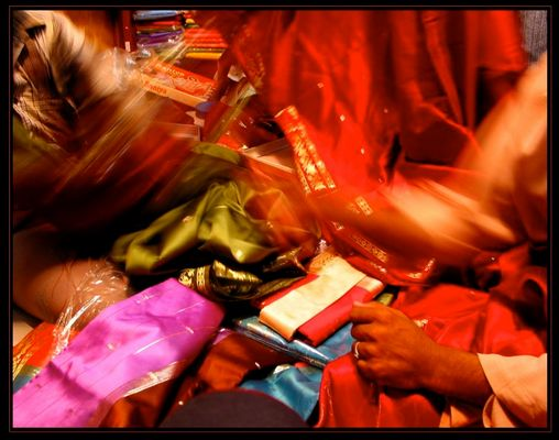 L'envol des saris
