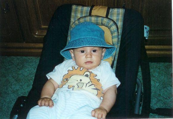 Leon mit Hut