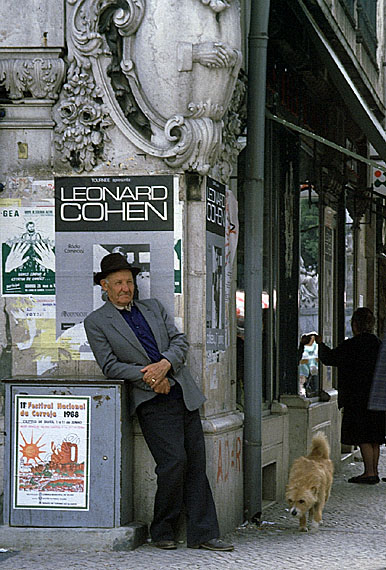 leonard cohen in lissabon
