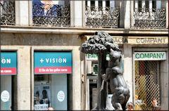 Leone.?......NO . «Orso e Corbezzola»..Simboli di Madrid.