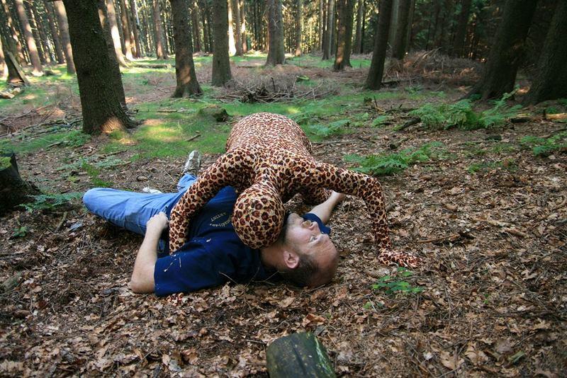Leopardenmenschen im Taunus