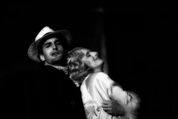 Leporello und Donna Elvira