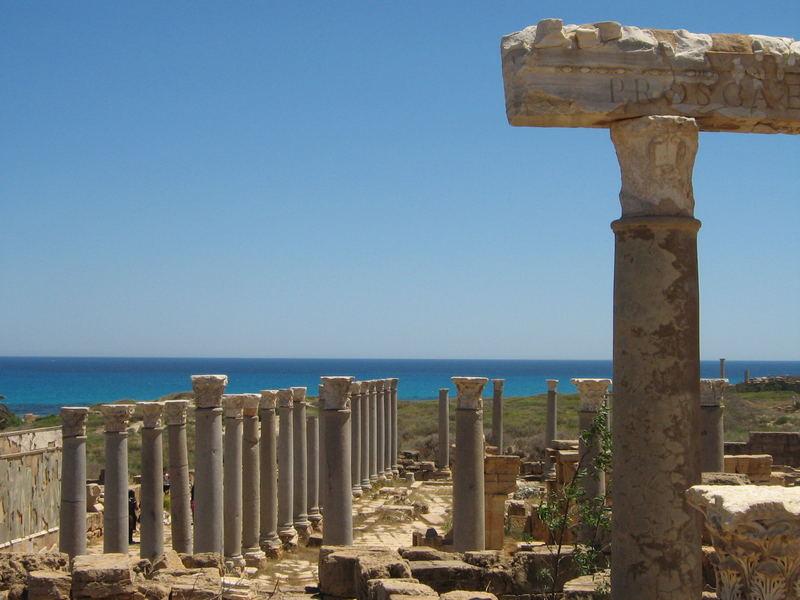Leptis Magna Tripoli-Libya