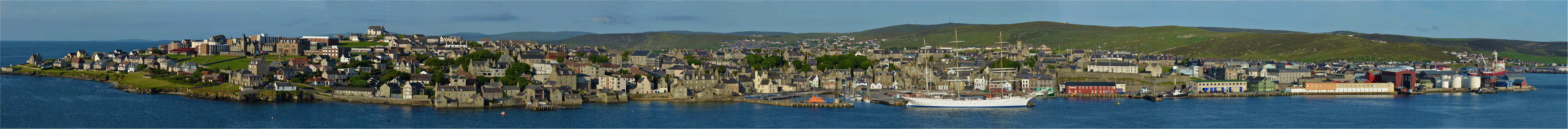 Lerwick - Hauptstadt der Shetland Inseln