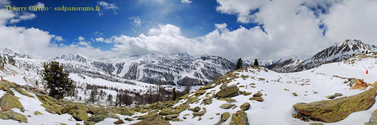 Les Alpes du sud au printemps - Isola 2000