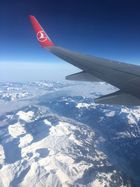 Les Alpes vue d'avion