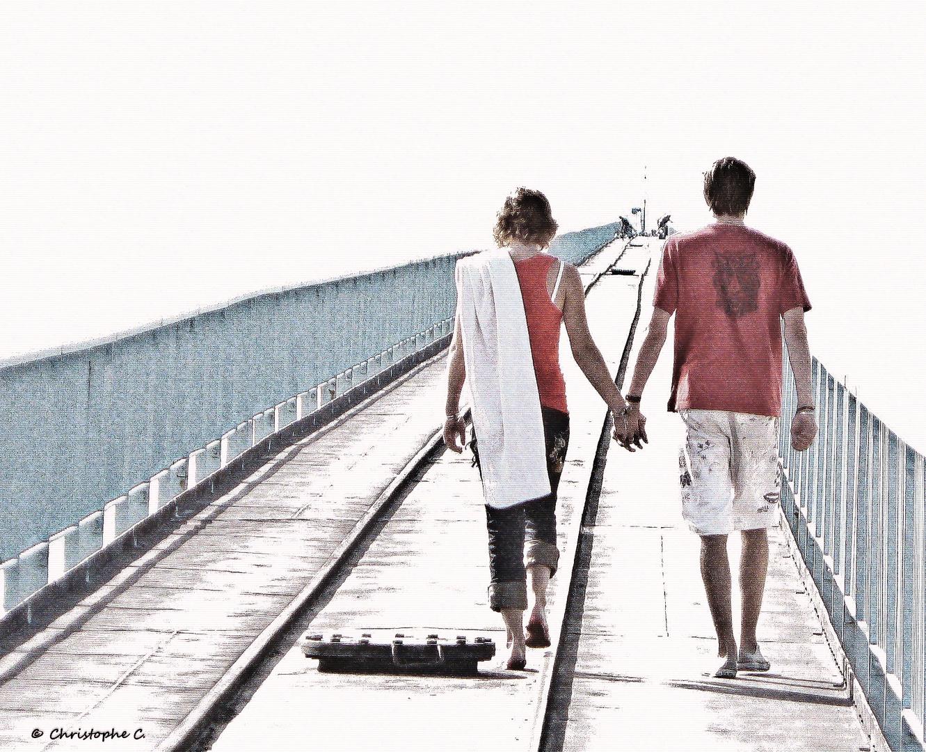 Les Amoureux du Wharf !