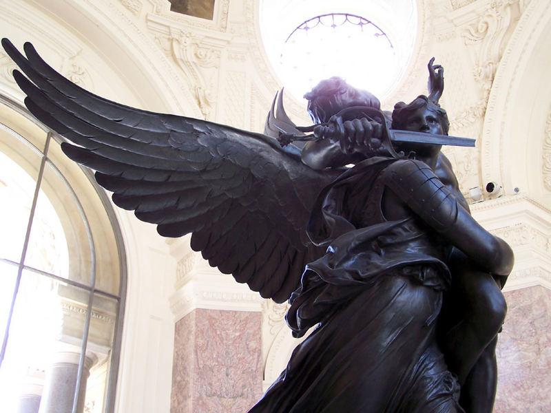 Les anges du Petit Palais