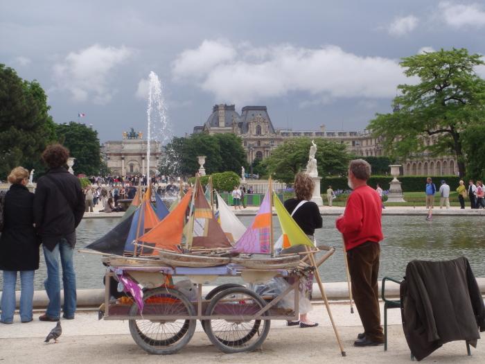 Les bateaux des Tuileries