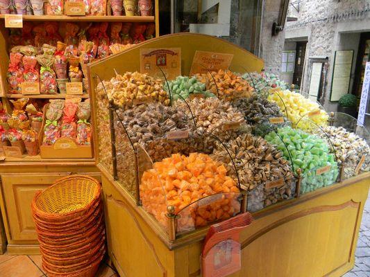 Les bonbons de Carcassonne