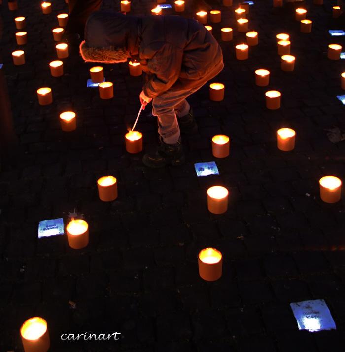 Les bougies de l'espoir
