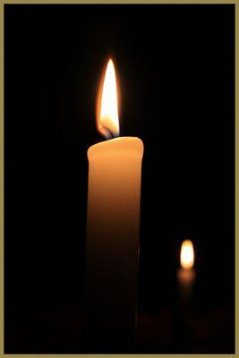 Les bougies de noël...