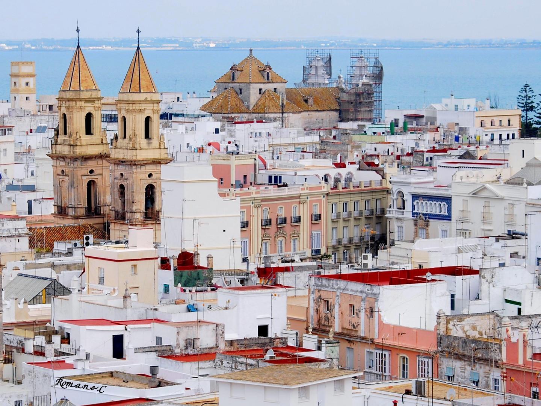 Les bâtiments de l'Andalousie.
