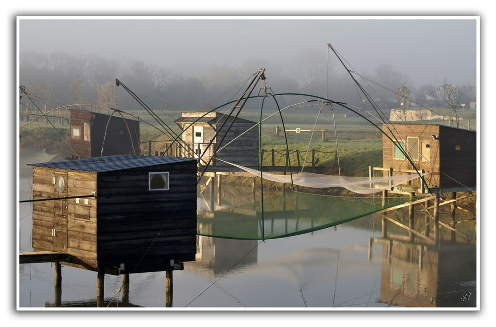 Les cabanes de pêcheurs