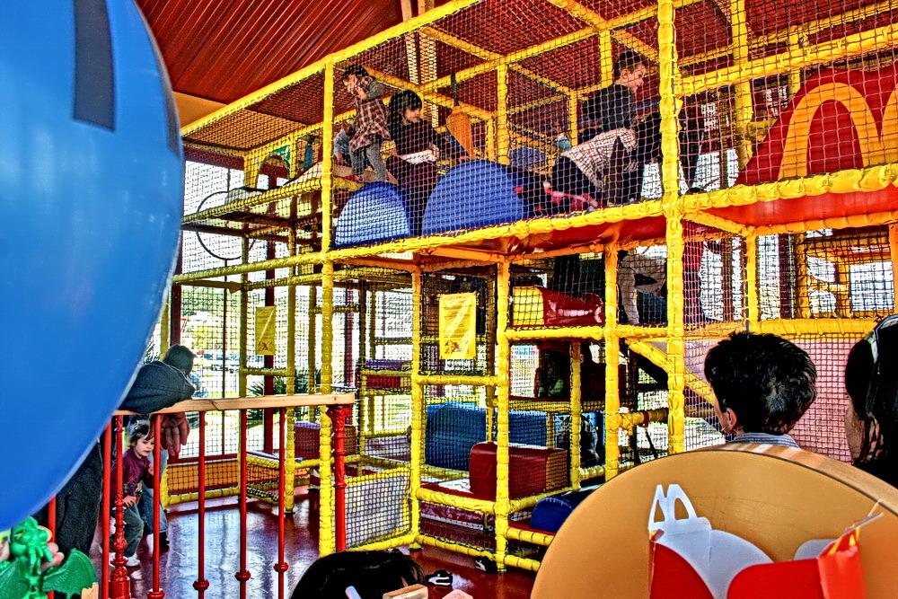 Les cages à enfants